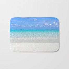 Gorgeous Tropical Ocean Bath Mat