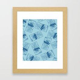 Pocky Lover Framed Art Print