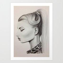 Iggy Azalea Art Print