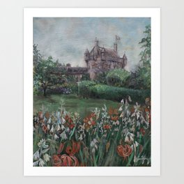 Cawdor Castle (Clan Campbell) Art Print
