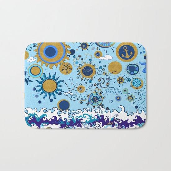 Sun & Sea Bath Mat