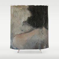 imagerybydianna Shower Curtains featuring the hours by Imagery by dianna