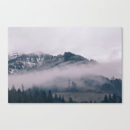 Swiss Fog IV Canvas Print