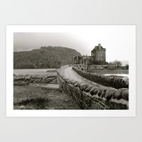 scotland Art Prints featuring Scotland by Emily Caldwell