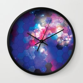 Space Hive Wall Clock