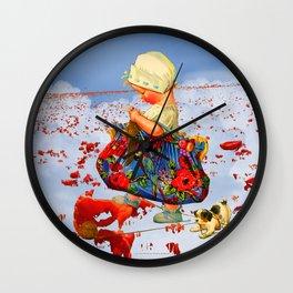 THE LITTLE LADY IX Wall Clock