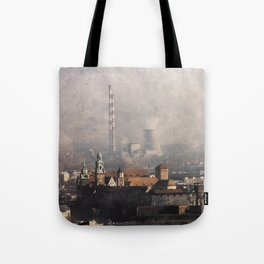Wawel from above Tote Bag