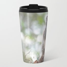Meerkat on guard duty Travel Mug
