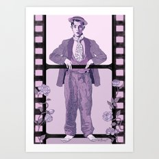 Buster Movie Hero Art Print