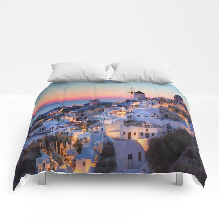 Santorin1 Comforters