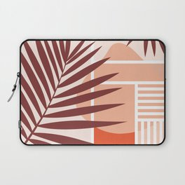 Sunset in Miami / Earth-tones abstraction Laptop Sleeve