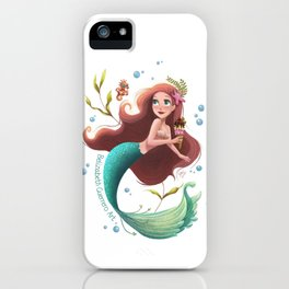 Summer Mermie iPhone Case
