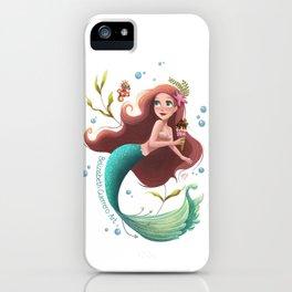 Summer Mermie iPhone Case