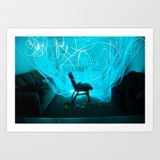 light, light, light  Art Print