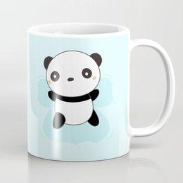 Kawaii Panda Snow Angel Coffee Mug