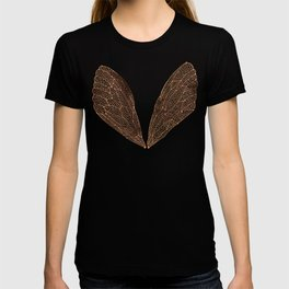 Cicada Wings in Rose Gold T-shirt
