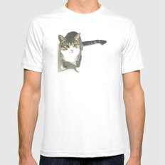 Miojo Cat. MEDIUM Mens Fitted Tee White