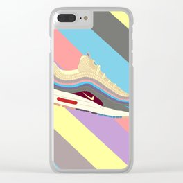 Pastel Clear iPhone Case