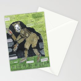 How To Be A (Bi-Polar) Bear Stationery Cards