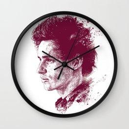 Eddie Redmayne Wall Clock