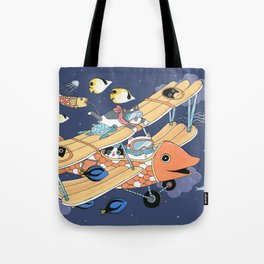 The Flying Night Tote Bag