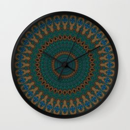 Recreational Maylanta Mandala 38 Wall Clock