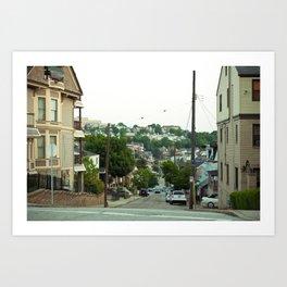 Housing Altitude Art Print