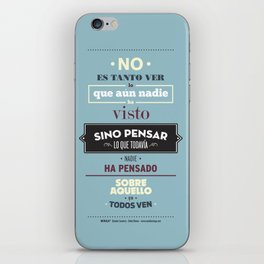 No es Tanto ver iPhone Skin