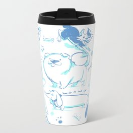 Dog Park Metal Travel Mug