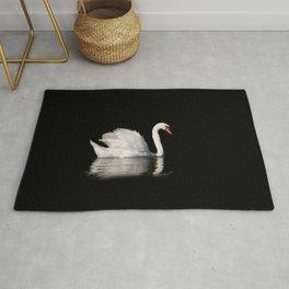 Mute Swan Cygnus olor at lake Rug