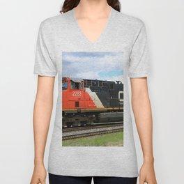 Canadian National Railway Unisex V-Neck