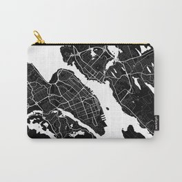 Halifax - Minimalist City Map Carry-All Pouch