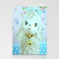 poodle Stationery Cards featuring Poodle by Vintage  Cuteness