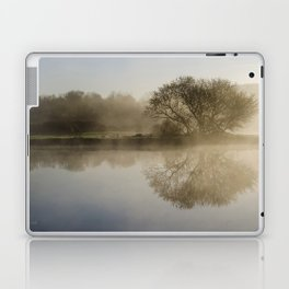 Misty Sunrise Landscape Laptop & iPad Skin