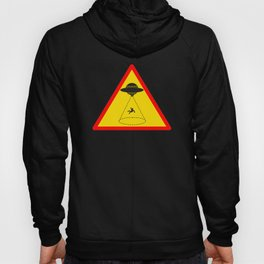 Funny Alien Gift Abducted Hoody