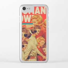 Woman Power Clear iPhone Case