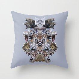 Team Kitty Throw Pillow