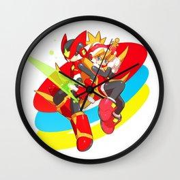 Megaman & Ciel Wall Clock
