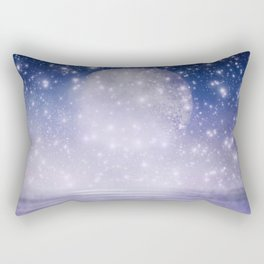 Moonlit Ocean Rectangular Pillow