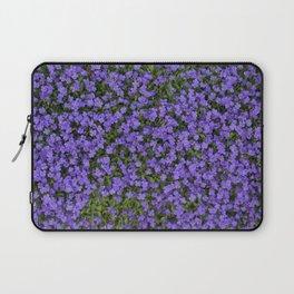 Tiny Purple Flowers Laptop Sleeve
