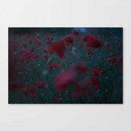 Rainy Summer Vibes Canvas Print