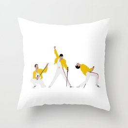 Another One Bites the Dust Throw Pillow