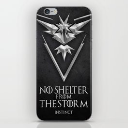 Team Storm Instinct iPhone Skin