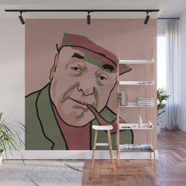 Pablo Neruda Wall Mural