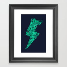 Hydro-Electric Framed Art Print