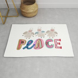 Peace on earth Rug