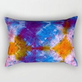 Tie Dye Chimes Rectangular Pillow