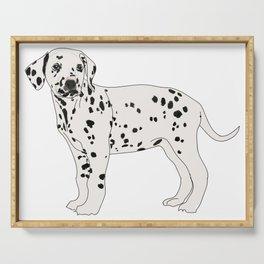 Dalmation dog Serving Tray