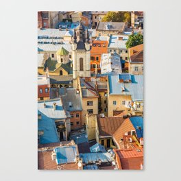 Colors of city Canvas Print
