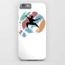 Kungfu gift for Martial Arts Fans iPhone Case